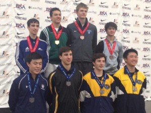Salle Mauro Michael Dudey Junior National Champion Jo's